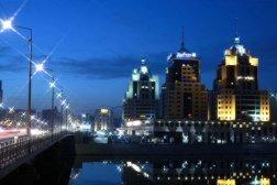 Рэдиссон отель Астана ночь