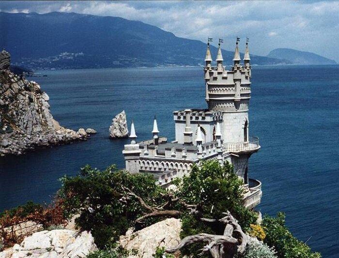 Ласточкино гнездо. Крым (Украина)