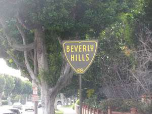 Беверли Хилс, район Голливуда