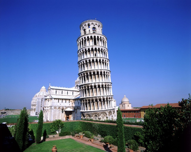 Пизанская Башня - достопримечательность Италии