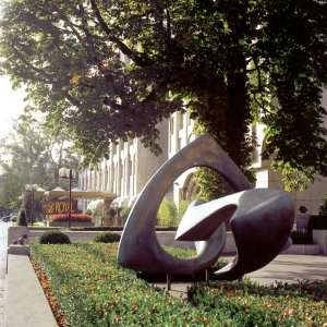 Аллея современных скульптур. Люксембург