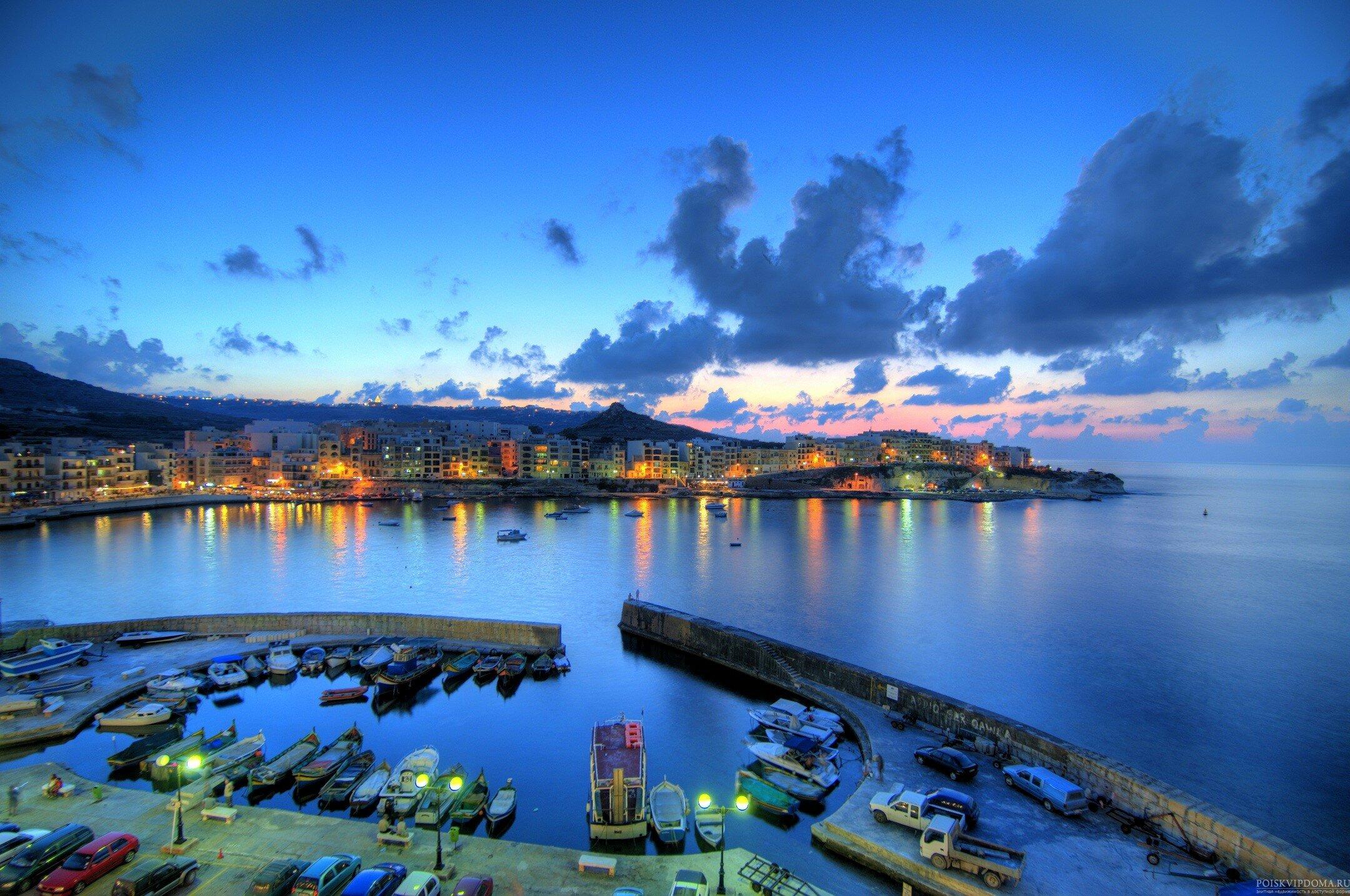Мальта. Закат