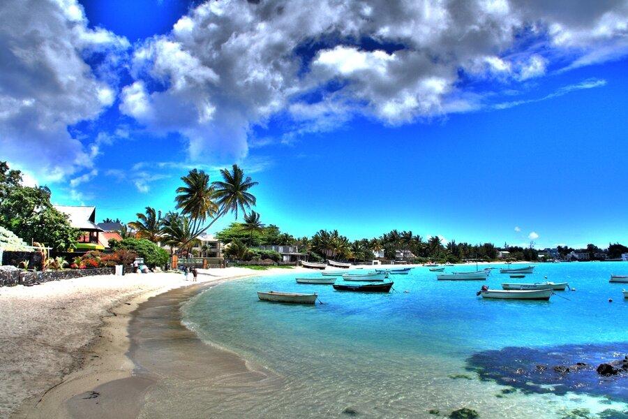 Пляж. Тур на Маврикий