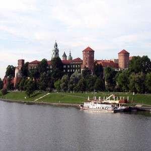 Вид на достопримечательности Польши