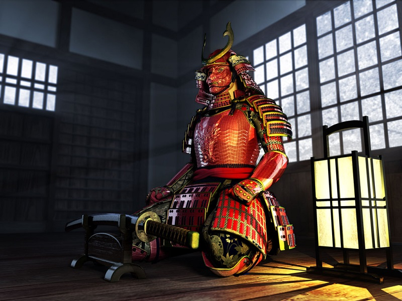Самураи в Японии