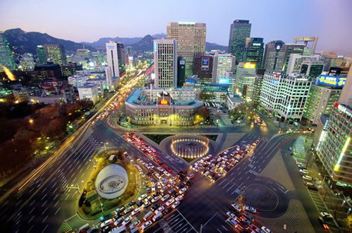 Южная Корея. Сеул