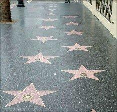 Аллея звёзд Голливуд