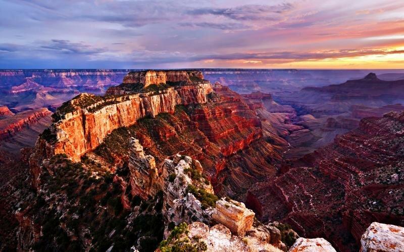 США. Grand Canyon