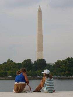 Стелла мемориала в Вашингтоне